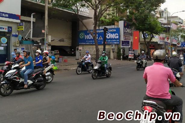 Mặt tiền phòng khám đa khoa Hồng Cường số 87-89 Thành Thái