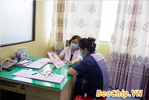 Bác sĩ tại phòng khám 34 36 Đinh Tiên Hoàng