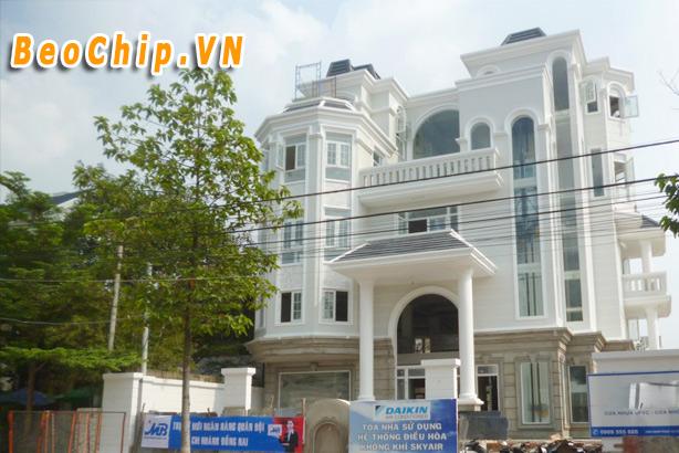 Mẫu nhà thiết kế đẹp tại Biên Hòa được nhiều khách hàng yêu thích